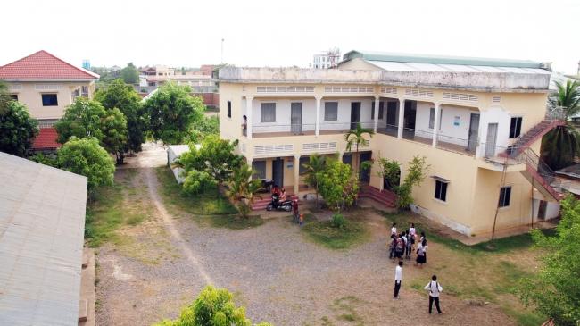 カンボジアのバッタンバンにある自立支援施設「若者の家」