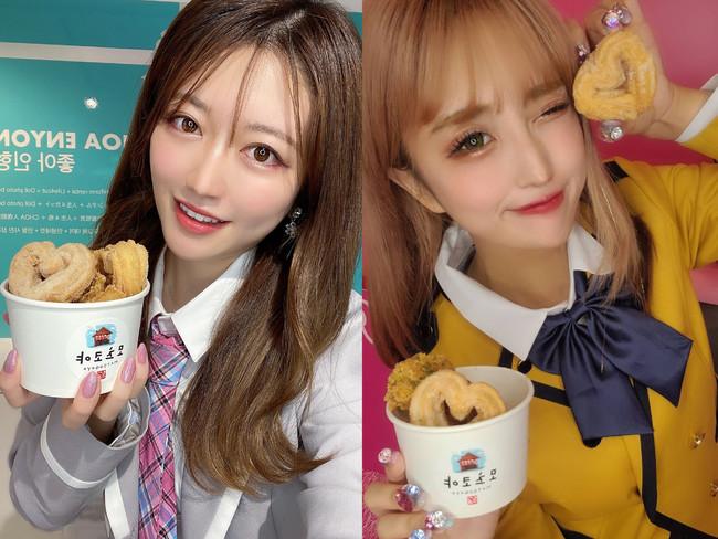 (左:川口加恋 右:Miki)