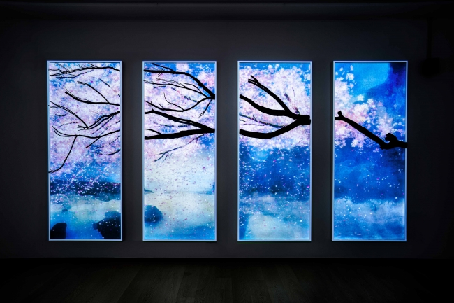 『CHILL』(※この画像は2019年香港で開催した個展の作品展示時のものです)