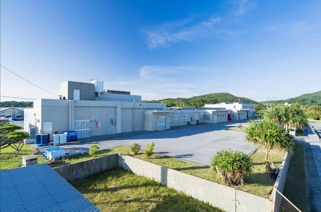沖縄県久米島町(久米島)のポイントピュール本社工場