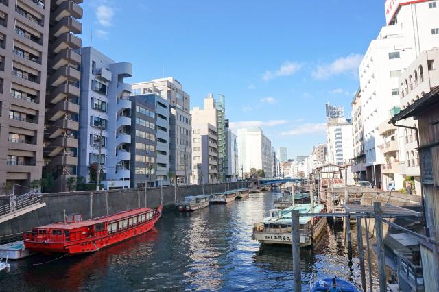 水辺の街浅草橋
