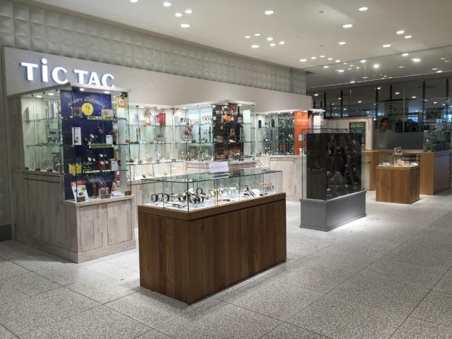 TiCTAC渋谷ヒカリエ店(渋谷ヒカリエ4階 tel.03-3406-3722)
