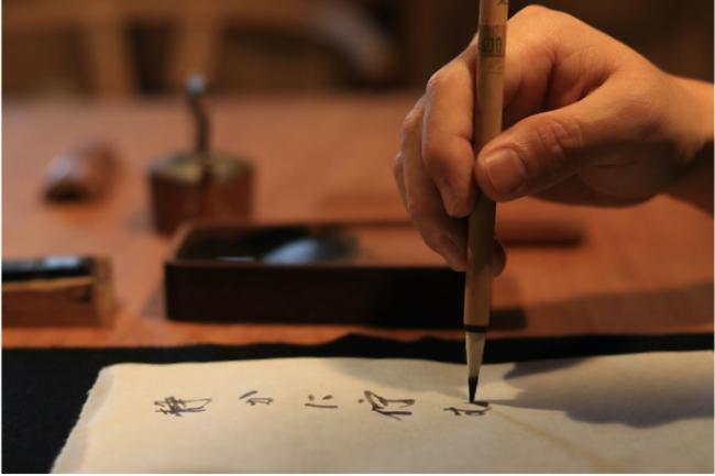 写真:手書き文化を見つめ直す想いを籠めて
