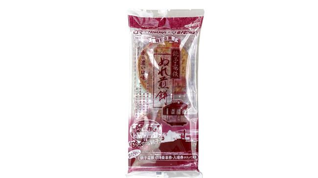 ぬれ煎餅 赤の濃い口5枚入り 特別規格品