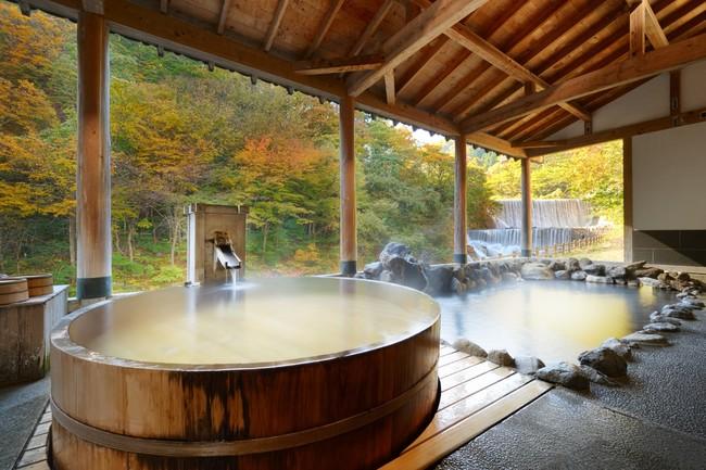 土湯温泉の旅館お風呂