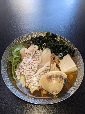 土湯温泉旅館オリジナルメニューニュー扇屋 吟醸鍋