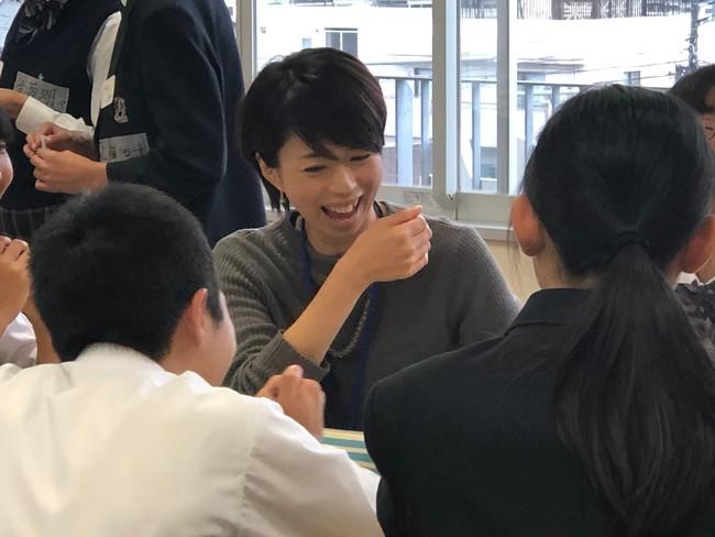 渋谷本町学園 体験型講座の様子 2019年10月29日撮影