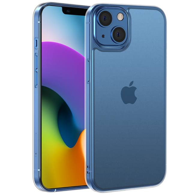 NIMASOのiPhone13mini用すりガラスケース