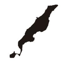 伊平屋島マップ