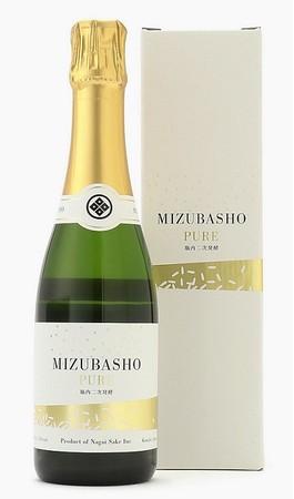 <永井酒造>MIZUBASHO PURE 水芭蕉ピュア ハーフボトル 2,970円
