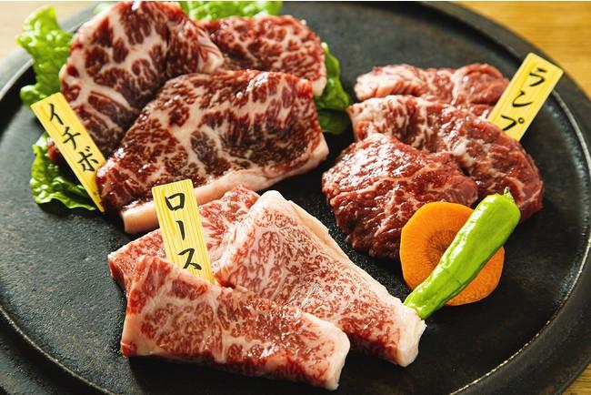 熊野牛部位食べ比べ焼肉セット 3,240円