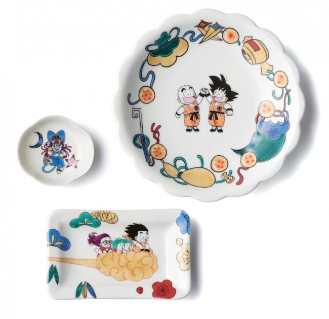 <クタニシール>豆皿、5寸菊皿、長角皿