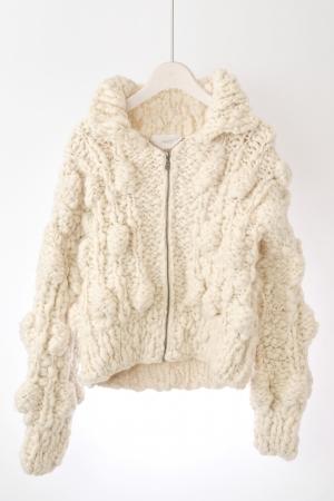 <MAYDI>ニットジャケット ¥87,480
