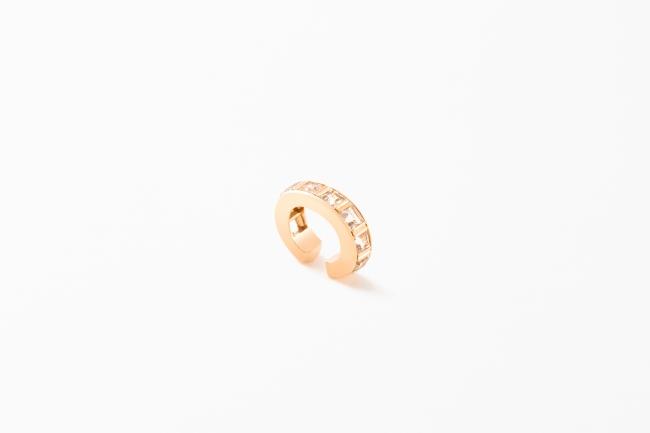 Alignment Ear Cuff(Yellow Gold,White Topaz)¥63,720