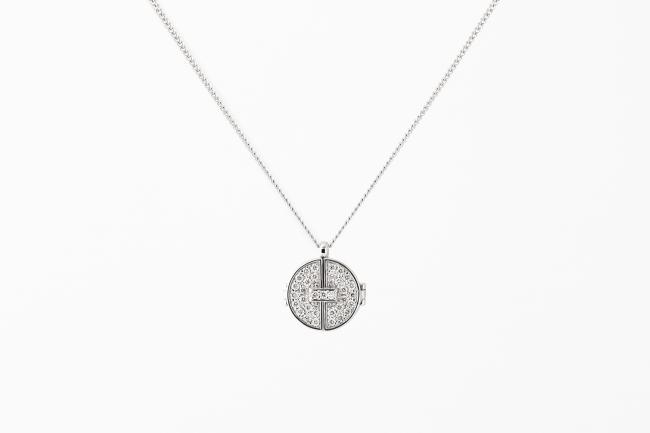 Axis Pendant(White Gold,White Dia)¥150,120