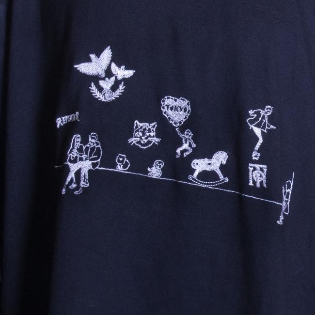 刺繍加工例