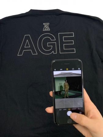 「AGE」ロングスリーブTシャツ ¥12,960