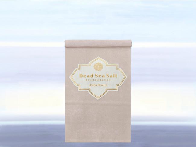 """美容用浴用ソルト""""Dead Sea Salt(デッドシーソルト)"""" 240g ¥2,100(税込み)、1,000g ¥5,800(税込み)"""