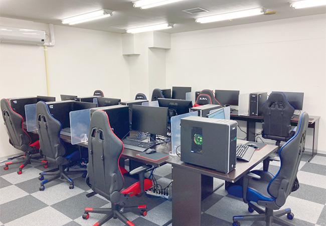 パソコン室の設備