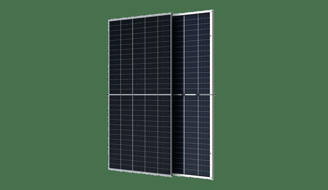 トリナ・ソーラーのDuomax V両面受光型両面ガラスモジュール