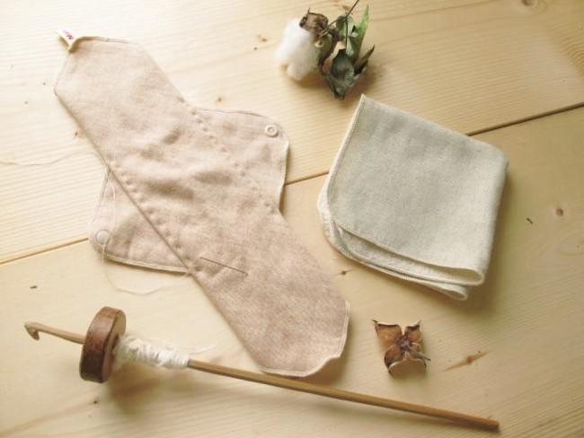 当日製作する布ナプキンのイメージ