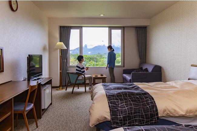 全室磐梯山ビューの客室