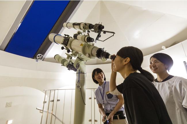 ホテルに併設された天文台