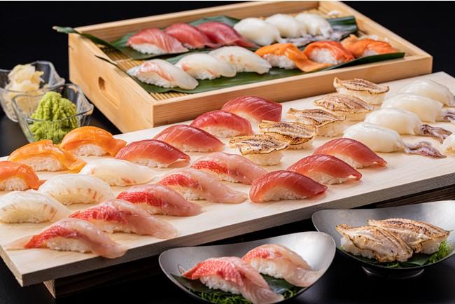 握り寿司6種(金目鯛など)