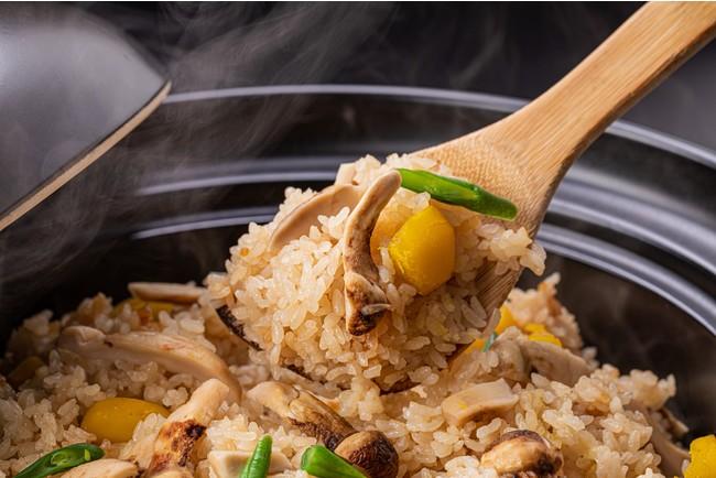 松茸と栗の炊き込みご飯