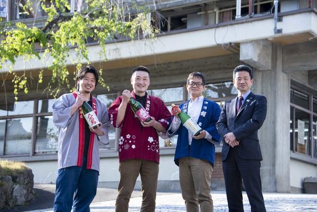 米の生産者、町内の三つの老舗酒蔵が初めて連携し、町役場の協力得て新銘柄「吉野正宗」誕生