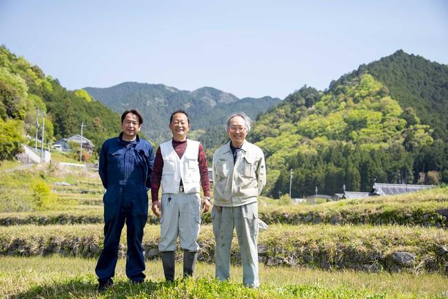 酒米作りを通じ、吉野を盛り上げるために活動する生産者。