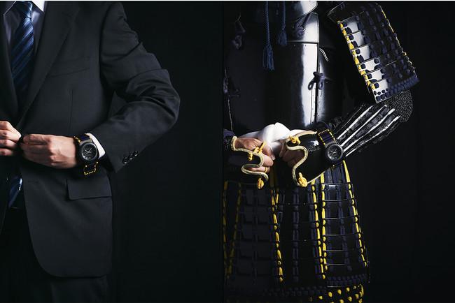 「現代に纏うことができる甲冑」を腕時計に表現