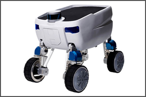 搬送用自律移動ロボット 「Mighty」(Piezo Sonic社)