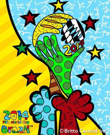 2014年FIFAワールド杯のオフィシャルアーティストに任命される。