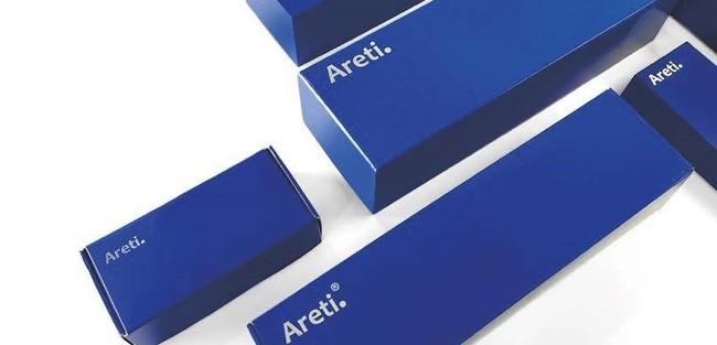 アレティの商品はシンボルカラーでもあるシックなインディゴのボックス入り。ギフトにも最適です。