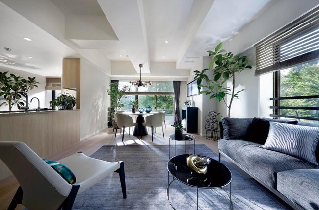 190平米超の専有面積をもつリノベーションマンション「ウッドヴィル麻布」