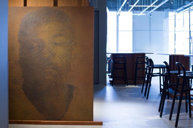 """加藤 智大「iron-oxide painting """"W.S./T****68""""」"""