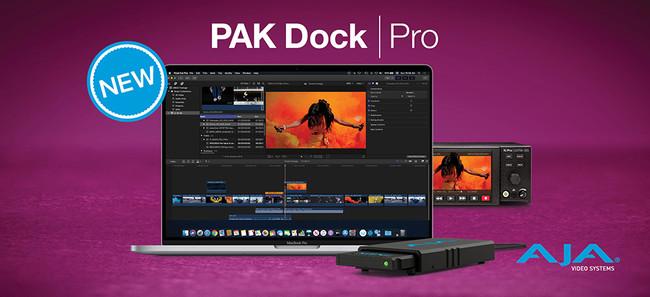 AJA PAK Dock Pro