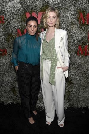 左:マリア・ジュリア・マラモッティ     右:エリザベス・デビッキ @SGP Italia