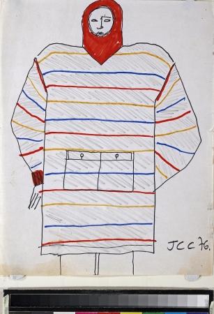 1976FW JC・カステルバジャックによるスケッチ