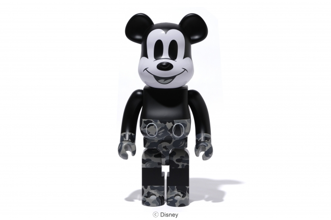 BE@RBRICK BAPE(R) MICKEY MOUSE & VCD BAPE(R) MICKEY MOUSE