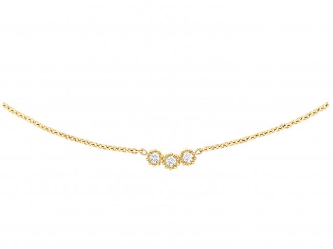 「ミミローズ」ネックレス YG×ダイヤモンド 税抜価格 ¥235,000