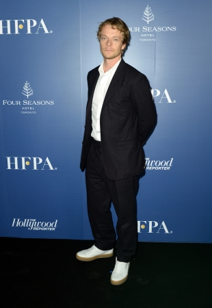 Alfie Allen HFPA Hollywood Reporter party hosted by Dior