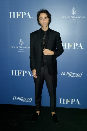 Alex Wolff  HFPA Hollywood Reporter party hosted by Dior
