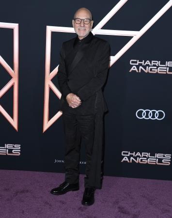 Patrick Stewart Charlie_s Angels Premiere LA