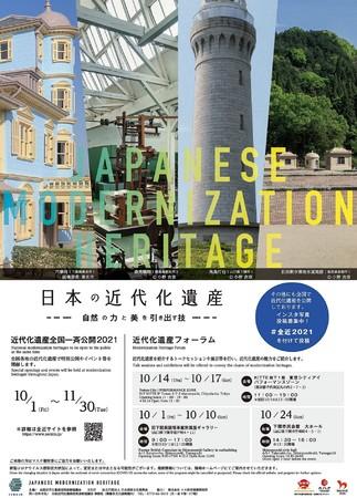 「日本の近代化遺産」告知ポスター