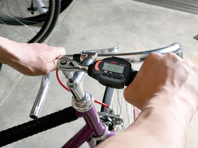 自転車整備での使用イメージ