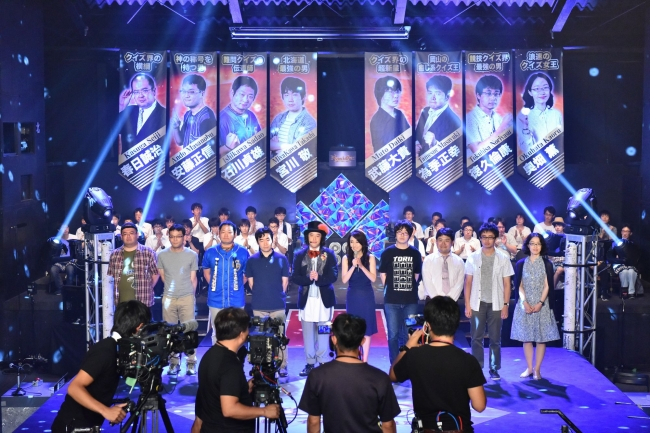 『KNOCK OUT(ノックアウト)~競技クイズ日本一決定戦~』(C)東北新社