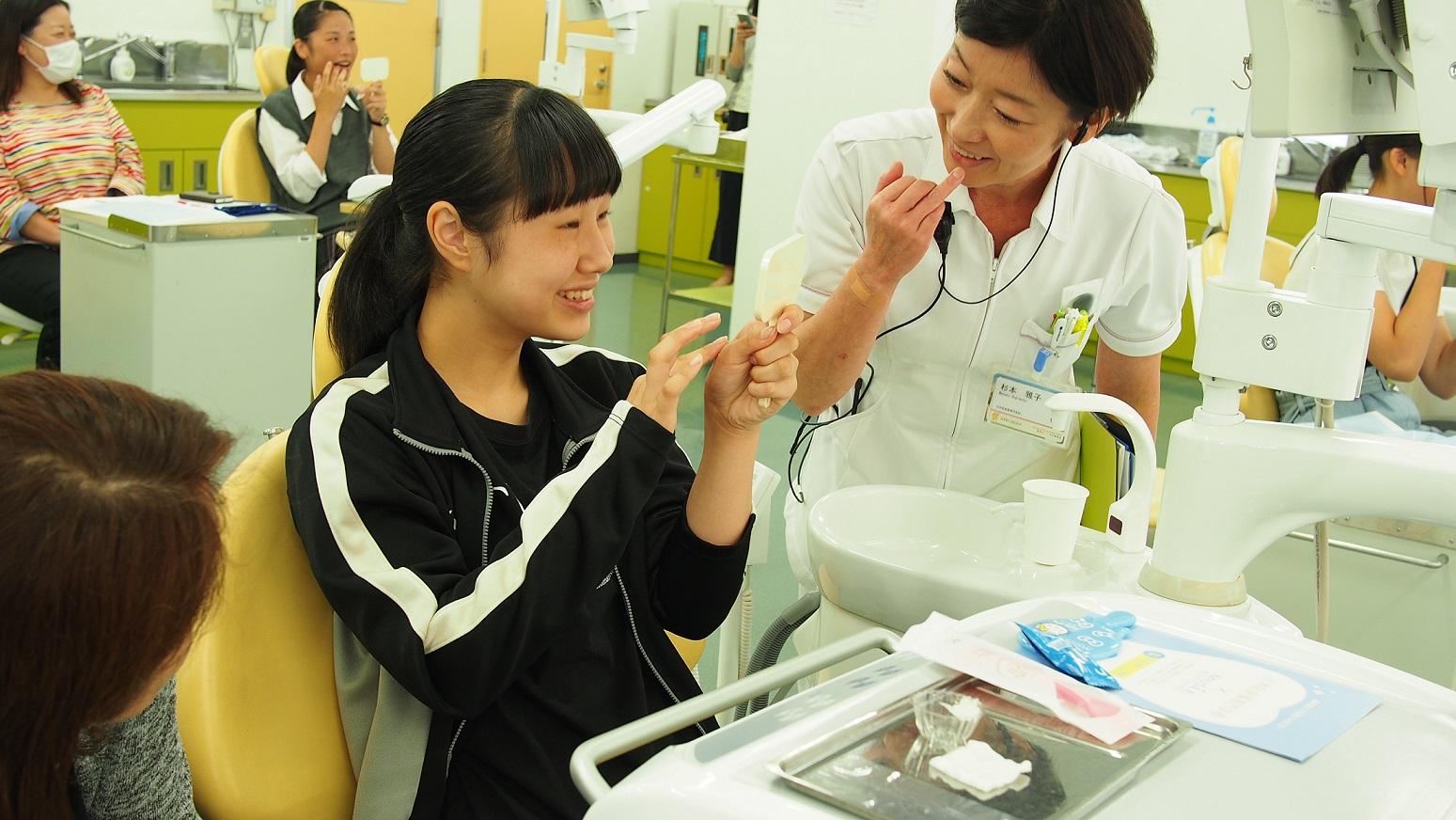 ミュゼホワイトニングから歯科衛生士を目指すみなさまへ 「日本医歯薬専門学校」「新東京歯科衛生士専門学校」オープンキャンパスにて1日特別イベントを開催