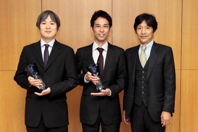 (左から)畑 匡侑 先生、北澤 耕司 先生、大鹿 哲郎 先生
